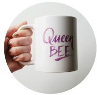 Queen Bee Social Manor Coffee Cup